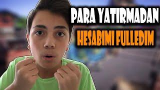 0 TL İLE HESABIMI FULLEDİM! -ZULA