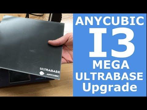 How to upgrade into ULTRABASE | Anycubic i3 mega