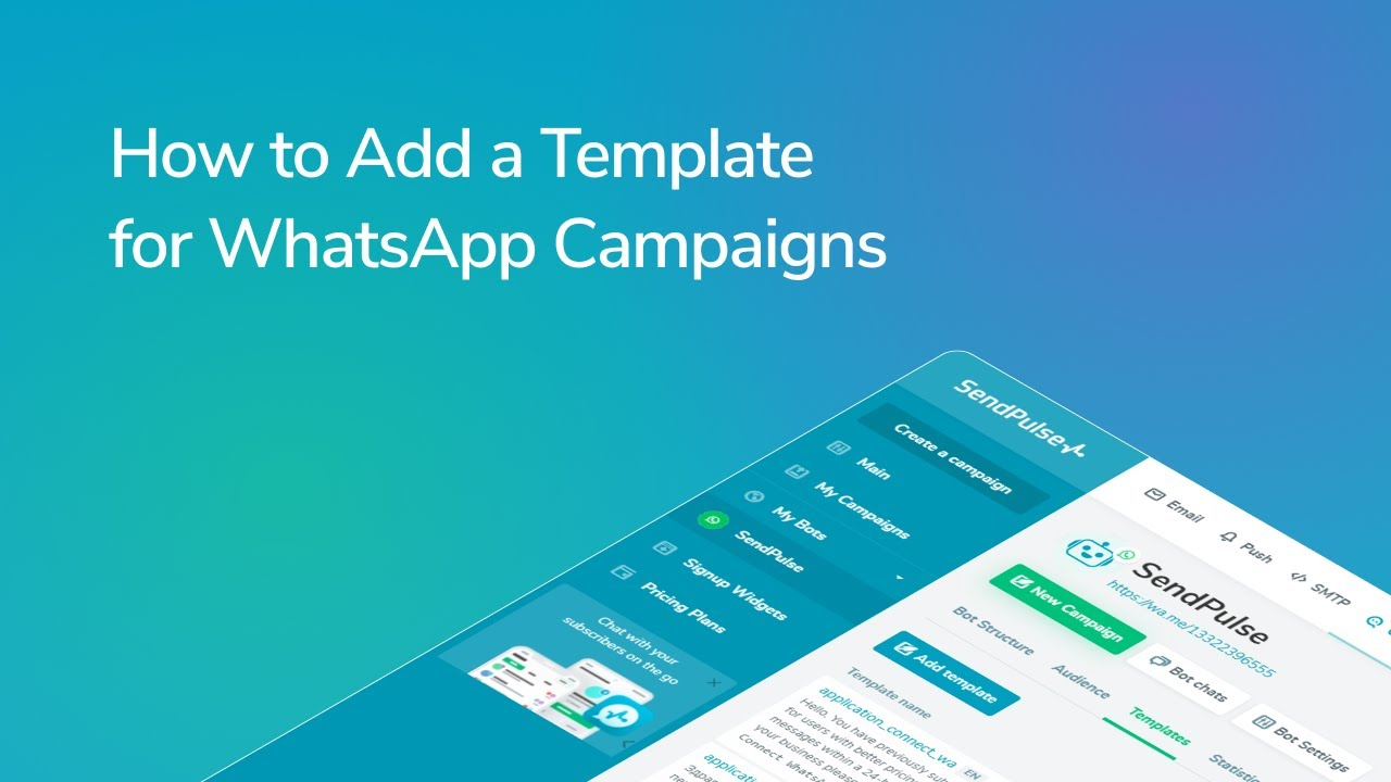 How to Add a Template for WhatsApp Campaigns
