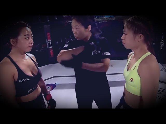 한국 & 일본 미녀들이 붙었다 ㄷㄷ 스즈키 마리아 vs 송효경 (AFC)