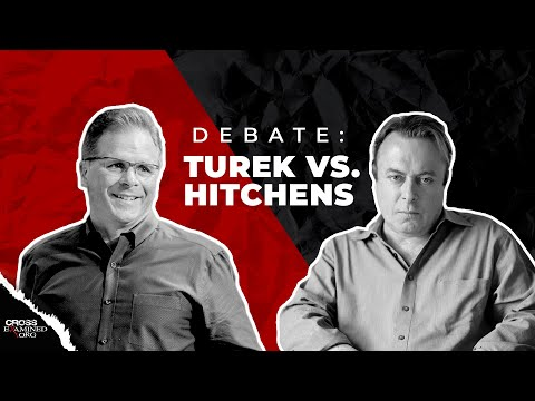 What Best Explains Reality: Theism or Atheism? (Frank Turek vs. Christopher Hitchens)