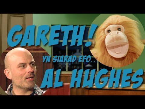 Gareth! ac Al Hughes! off Radio Cymru!
