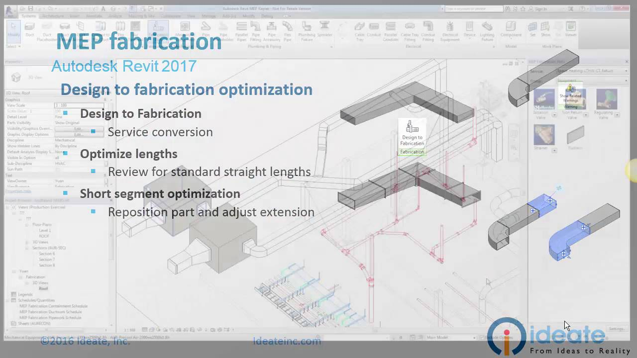 Revit 2017: Design to Fabrication