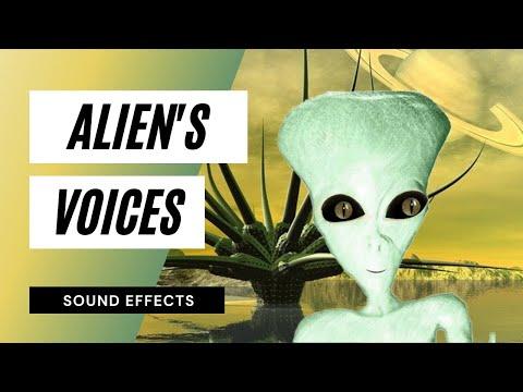 Alien Voices - Sound Effect - Animation