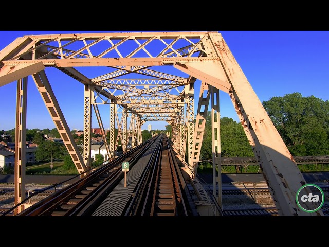 CTA's Ride the Rails: Green Line to Harlem Real-time (2019)