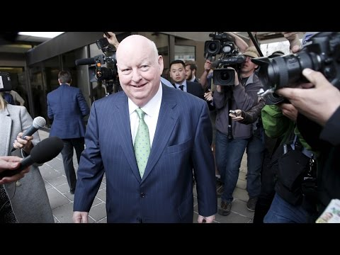 Duffy leaves courthouse after being found Not Guilty