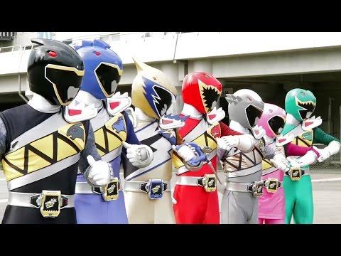 Power Ranger Dino Super Charge | Batalla - Capitulo 11: Amor a primera pelea