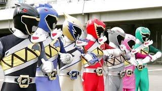 Power Ranger Dino Super Charge   Batalla - Capitulo 11: Amor a primera pelea