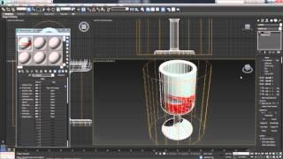 3D Max. Урок №28. Проецирование текстур. Модификатор UVW Map.