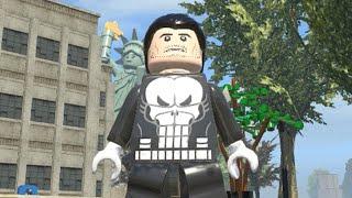 LEGO Marvel Superheroes - THE PUNISHER FREE ROAM GAMEPLAY