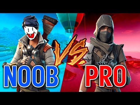 GO FROM NOOB to PRO! Fortnite: Battle Royale