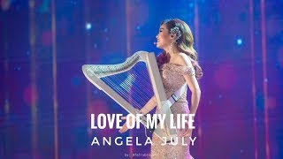 Love of My Life - Vocal and Harp Cover by Angela July Inquiries: +6...