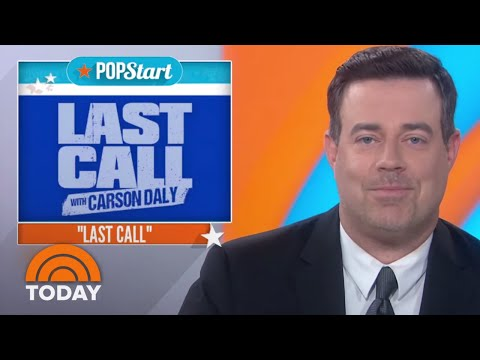 Carson Daly Reflects On 'Last Call' Ahead Of Final Episode | TODAY