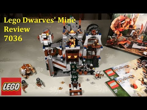 Lego Dwarves' Mine 7036 Review And Modification