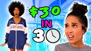 BFFs Style Each Other in 30 minutes with $30?!