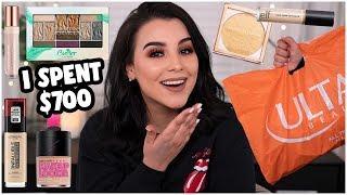 HUGE $700 MAKEUP HAUL 2019! ULTA BEAUTY, CVS, WALGREENS & TARGET! | MakeupByAmarie