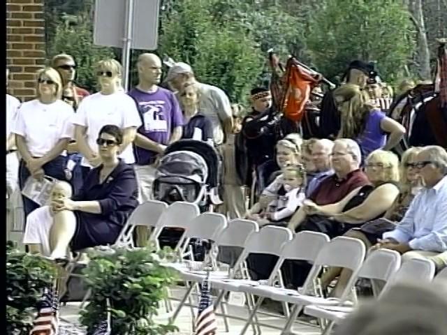 911 Memoril Dedication 9/11/11