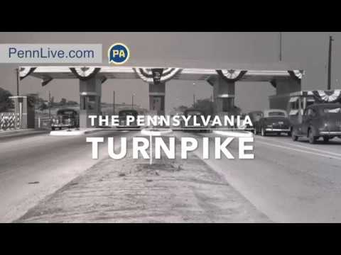 The Pennsylvania Turnpike, vintage photos