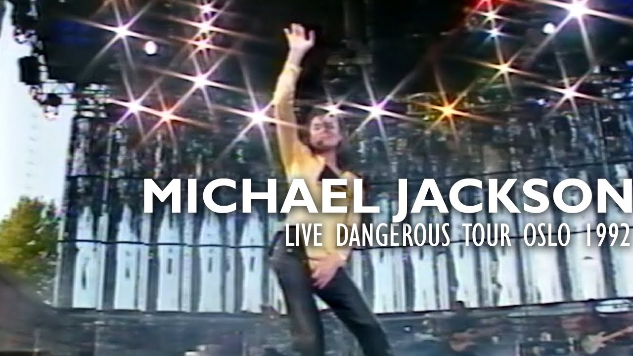 "Michael Jackson - ""Human Nature"" live Dangerous Tour Oslo 1992 - Enhanced - HD"