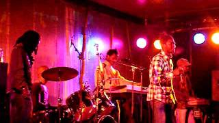 Botty man and the X-Perience band live in utrecht 2011 part1
