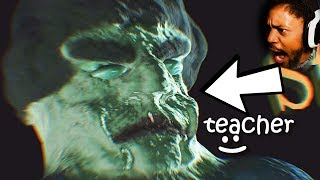 THIS IS YOUR TEACHER. YOU CHEAT IN CLASS, YOU DIE | 3 Scary Games