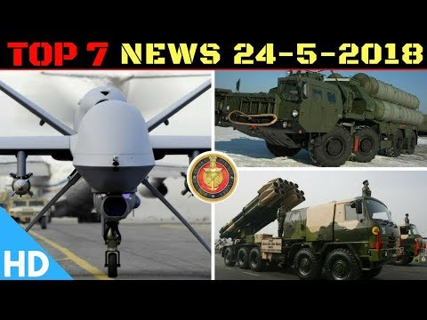 Indian Defence Updates : US Starts Guardian Drone to India,Brahmos with Indian Parts,S-400 Update