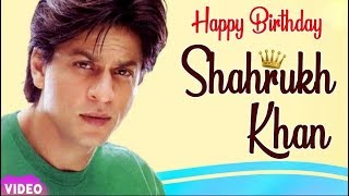 Shahrukh Khan Birthday 2019 Celebration | A Tribute Video !!