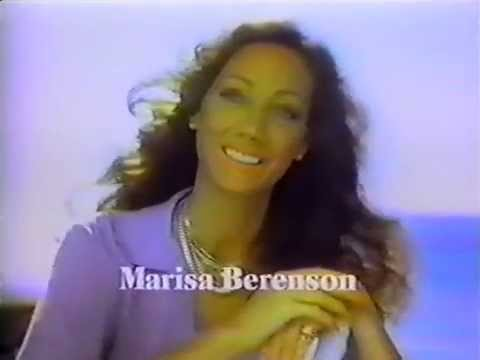 Marisa Berenson for Cutex 1977 TV commercial