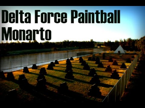Delta Force Paintball Monarto-First Time- Part 2