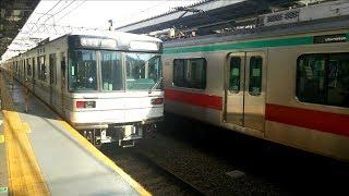 東京メトロ03系 鷺沼検車区から追いかけてみた
