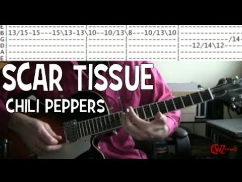 Rhcp Scar Tissue Guitar Lesson Tab Chords Youtube