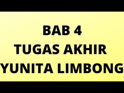 BAB 4 TUGAS AKHIR YUNITA LIMBONG