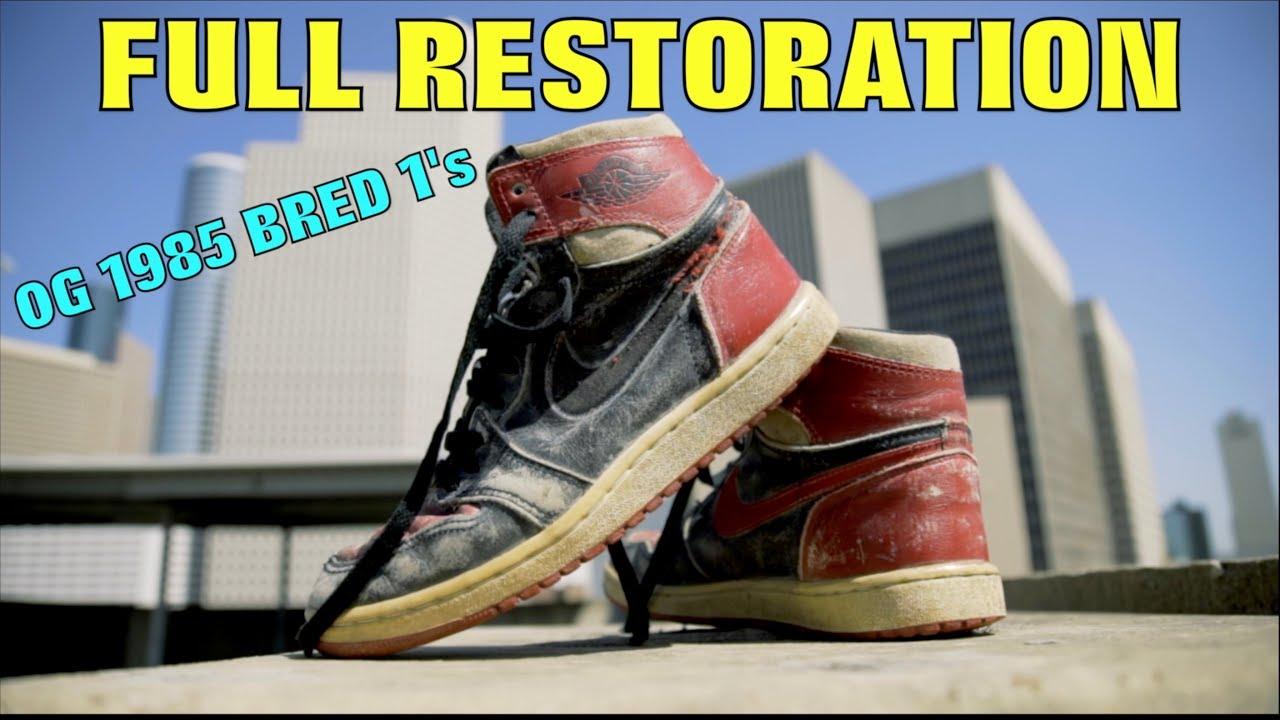 79884c5babbf 0G 1985 BRED 1 FULL RESTORATION!! - YouTube