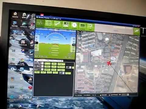 Ardupilot Telemetry Ground Station Test with 3DR radio modem