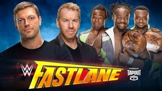 ST 221 (5) WWE Fastlane 2016 Cutting Edge Peep Show with The New Day Preview