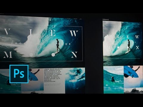 Photoshop: How To Design With Artboards  | Adobe Creative Cloud