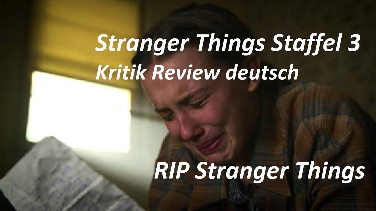Stranger Things Kritik