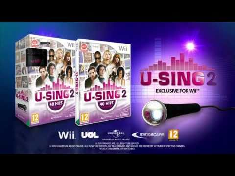 U-SING 2, the new karaoke Wii™ game for Xmas 2010