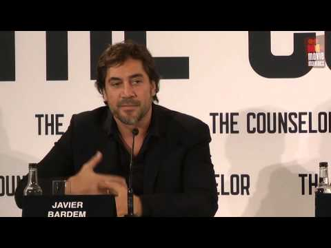 Counselor | Javier Bardem & Sir Ridley Scott press conference (2013)