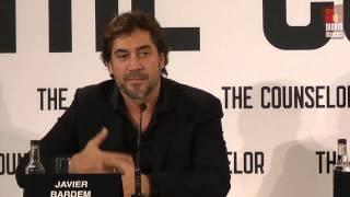 Counselor | Javier Bardem & Sir Ridley Scott Press Conference (2013)