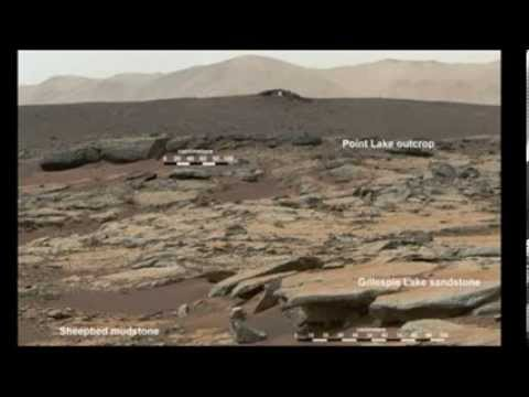 NASA Mars Rover Finds Evidence Of Lake on Mars - YouTube