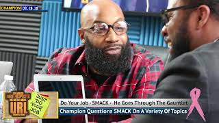 CHAMPION | DO YOUR JOB - SMACK