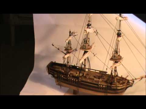 HMS BOUNTY Model Ship Part 10