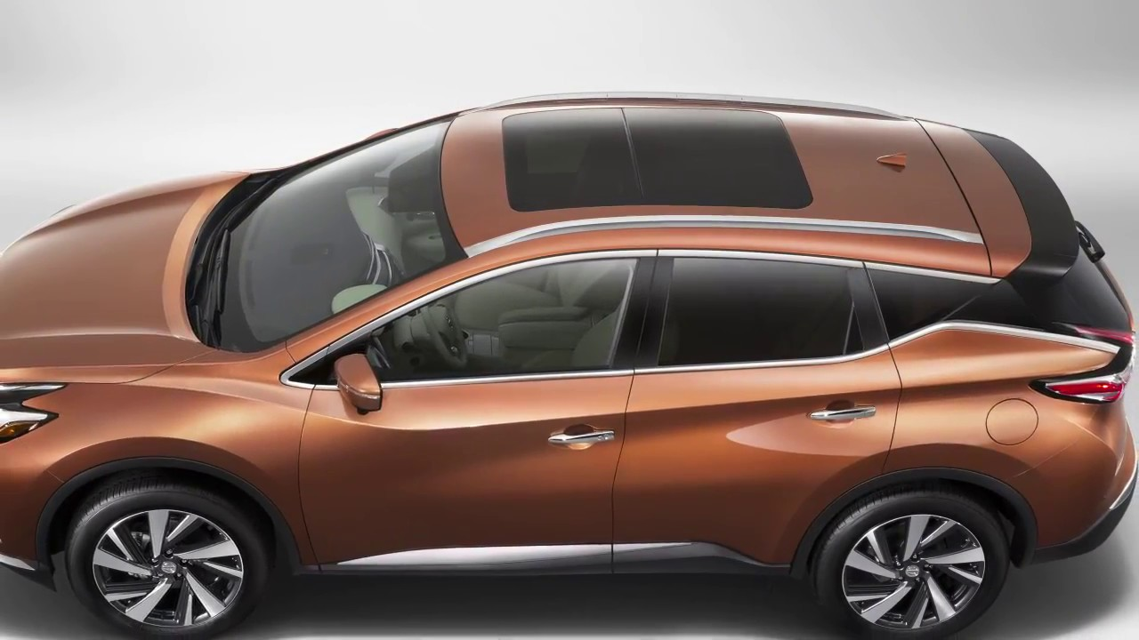 2017 Nissan Murano Moonroof If So Equipped
