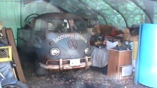 time to dig out crusty the 59 vw truck