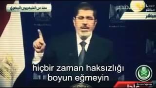 Muhammed Mursi Darbe Yapılmadan önceki Son Konuşması Türkçe Altyazılı