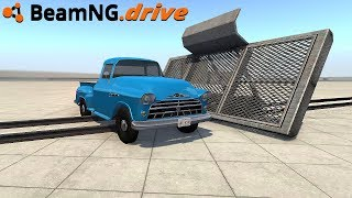 BeamNG.drive - ROCKET SLED
