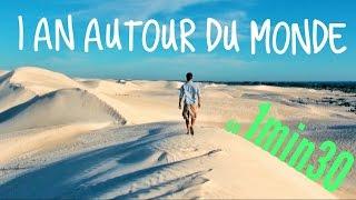 TOUR DU MONDE d'un an en 1min30