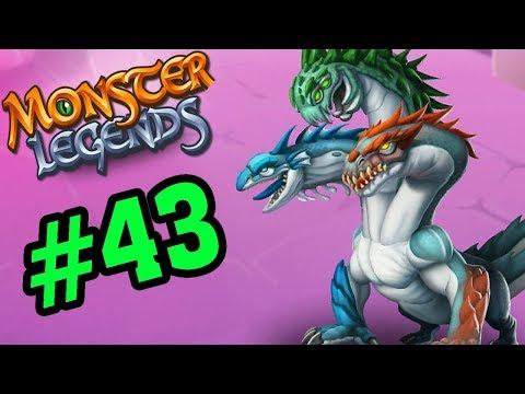 Monster Legends - LEARNEAN RỒNG 3 ĐẦU - Thế Giới Quái Vật #43