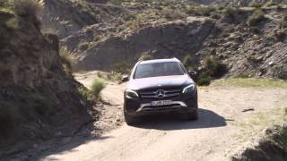 New Mercedes-Benz GLC (2015) - Driving Scenes